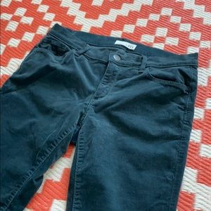Corduroy blue loft by Ann tylor size 29/8